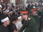 Video An ninh - Nghẹn ngào lễ truy điệu hai phi công Su-22 tử nạn