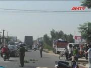 Camera hành trình - Xe tải tông xe máy, hai nữ sinh lớp 12 thương vong