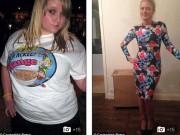 Bạn trẻ - Cuộc sống - Cô gái nặng 116kg lột xác trở thành hot girl