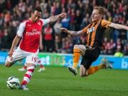 Bóng đá - Hull – Arsenal: Ban bật đẹp như mơ