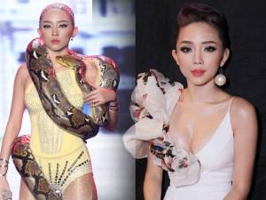 Thời trang - Đường cong mĩ miều của Tóc Tiên tại The Remix