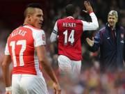 """Bóng đá Ngoại hạng Anh - """"Vượt mặt"""" Henry, Sanchez vẫn chưa khiến Wenger hài lòng"""