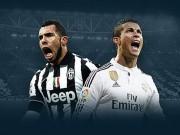 Video bàn thắng - TRỰC TIẾP Juventus - Real: Tevez và Bale rời sân (KT)