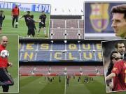"Cup C1 - Champions League - Người Barca mơ ""ăn ba"", Pep ngán Messi"