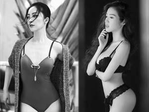 """Chăm sóc vòng 1, vòng 2 - Ngắm vòng eo """"con kiến"""" của gái một con showbiz Việt"""