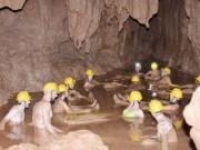 Du lịch - Tắm bùn hang động tại Phong Nha - Kẻ Bàng