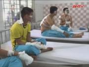 Video An ninh - Cháy nổ tại kho hóa chất, 17 chiến sĩ PCCC bị thương