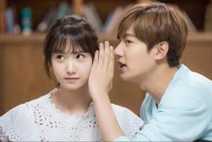 Phim - Lee Min Ho tình tứ bên nữ thần SNSD trong phim mới