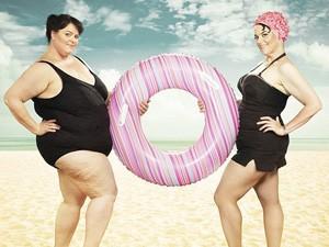 """Làm đẹp - Ảnh """"độc"""" về kỳ tích giảm cân của """"mẫu"""" béo Canada"""