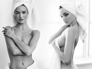 """Thời trang - """"Nụ hồng Anh"""" nửa kín nửa hở quấn hờ khăn tắm"""