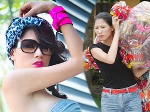 Thời trang - 2 phiên bản đối nghịch của người mẫu Trang Trần