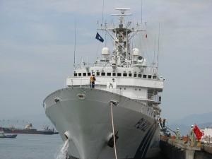 Tin tức trong ngày - Ngắm tàu Cảnh sát biển Nhật Bản hiện đại thăm Đà Nẵng
