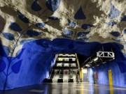 Choáng ngợp với 15 ga tàu điện ngầm đẹp nhất thế giới