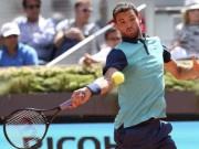 Tennis - Rome Masters ngày 1: Dimitrov, Isner có vé vào vòng 2