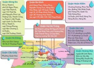 """Tin tức Việt Nam - Xem điểm """"nóng"""" thiếu nước sạch vào mùa hè tại Hà Nội"""