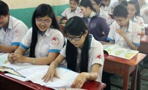 Giáo dục - du học - Học sinh TP.HCM thi thử kỳ thi THPT Quốc gia