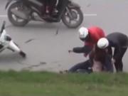 An ninh Xã hội - Camera giấu kín: Hiểm họa từ vết dầu loang trên đường