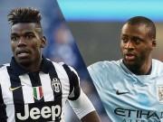 Bóng đá - Man City dụ Pogba đến Etihad: Thay thế Yaya Toure