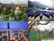 Du lịch - Hà Nội, Sài Gòn - top 5 điểm du lịch giá rẻ tốt nhất TG