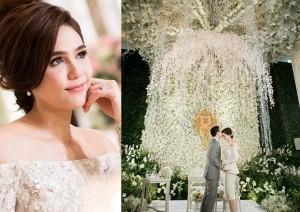Đám cưới gần trăm tỷ của nữ diễn viên đẹp nhất Thái Lan