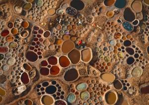 Du lịch - Những ao muối sắc màu đẹp tựa tác phẩm hội họa