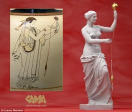 Phi thường - kỳ quặc - Bí ẩn tư thế của bức tượng thần Vệ Nữ nổi tiếng