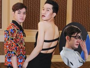 Thời trang nam - Thí sinh đồng tính khóc nức nở vì thiết kế táo bạo