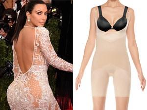 """Thời trang - Lý do Kim Kardashian vẫn kín đáo dù váy """"trong veo"""""""