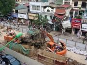Video An ninh - Hé lộ nguyên nhân sập cần cẩu dự án đường sắt Hà Nội