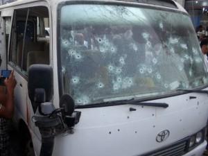 Pakistan: Xả súng kinh hoàng vào xe bus, 41 người chết