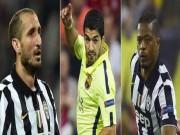 Bóng đá - Suarez tái ngộ Evra và Chiellini: Oan gia ngõ hẹp