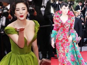 Thời trang - Váy áo xa hoa của sao châu Á tại các mùa LHP Cannes