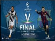 Bóng đá Tây Ban Nha - Chung kết C1: Lịch sử ủng hộ Juventus thắng Barca