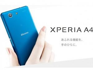 Tin tức công nghệ - Sony lặng lẽ tung Xperia A4 chống nước