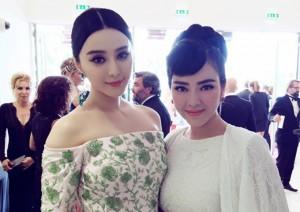 Phim - Lý Nhã Kỳ đẹp không kém Phạm Băng Băng tại LHP Cannes