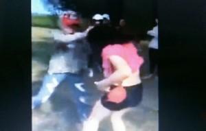 Giáo dục - du học - Nữ sinh đánh nhau chảy máu mặt từ thách thức trên facebook