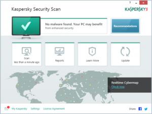 Phần mềm ngoại - Kaspersky Security Scan: Phần mềm diệt virus miễn phí