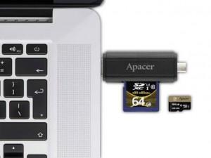 Sản phẩm mới - Apacer giới thiệu đầu đọc thẻ nhớ 2 chiều độc đáo