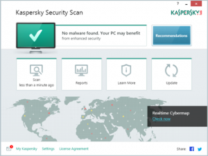 Kaspersky Security Scan: Phần mềm diệt virus miễn phí