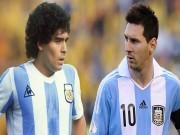 Video bóng đá hot - Ghi bàn khủng, Messi vẫn không thể bằng Maradona