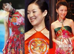 Thời trang - Mỹ nhân Hoa ngữ và cuộc đổ bộ áo chim công tại Cannes