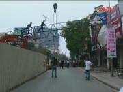 Bản tin 113 - Hà Nội: Dừng hoạt động các công trình sử dụng cẩu tháp