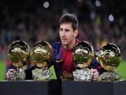 Ngôi sao bóng đá - Messi đã có nửa Quả bóng Vàng