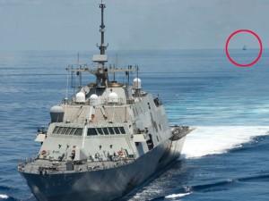 Tin tức trong ngày - Ngắm tàu chiến Mỹ vừa tuần tra trên Biển Đông