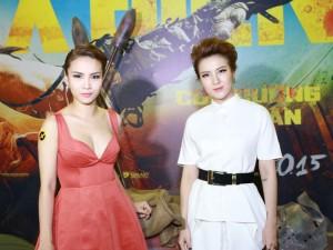 Chị em Yến Trang, Yến Nhi sành điệu đi xem phim