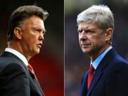 Bóng đá - Wenger tiếc rẻ trận hòa, Van Gaal chỉ quan tâm De Gea