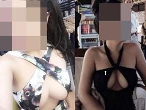 Thời trang - Chết khiếp với những kiểu khoe ngực của thiếu nữ Việt