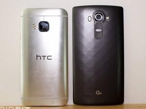 So sánh: LG G4 và HTC One M9