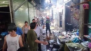 Tin tức Việt Nam - Hà Nội: Cháy chợ Phùng Khoang, chủ tiệm bánh mỳ tử vong