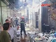 Video An ninh - Cháy chợ tại HN, 4 người trong một gia đình thương vong